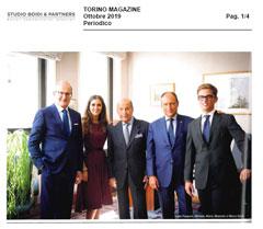 Torino Magazine – Studio Boidi's Anniversary